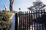 Gate to Adam's house