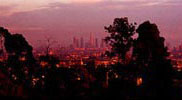 View from Runyon Canyon Park
