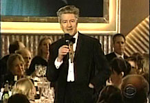 David Lynch at the AFI Awards 2001