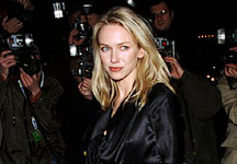 Naomi Watts at the New York Film Critics Circle 2001