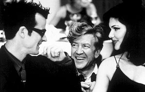 David Lynch with cast